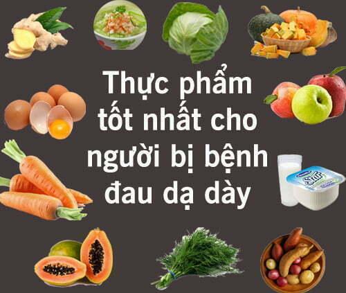 Đau dạ dày nên ăn gì để giảm đau