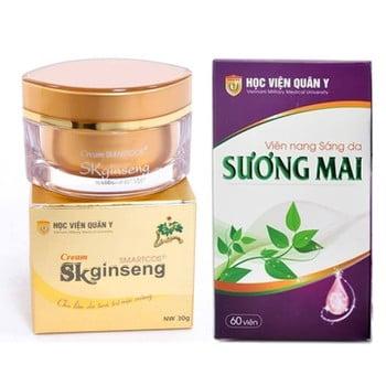 Combo 1 Skginseng + 1 Hộp viên uống Sương Mai HVQY