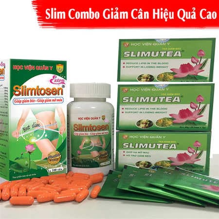 Liệu trình giảm cân số 1 Slimtosen Extra + 3 Slimutea
