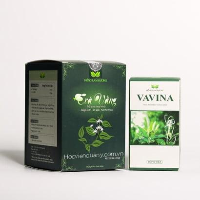 Liệu trình giảm cân sau sinh - 1 hộp Vavian + 1 trà vằng