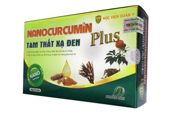 Điều trị ung thư Nano Curcumin tam thất xạ đen Plus