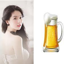Cách làm trắng da bằng bia và sữa tươi